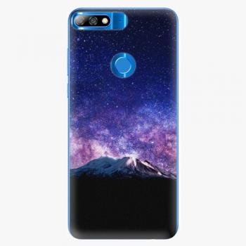 Silikonové pouzdro iSaprio - Milky Way - Huawei Y7 Prime 2018