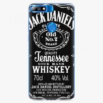 Silikonové pouzdro iSaprio - Jack Daniels - Huawei Y7 Prime 2018