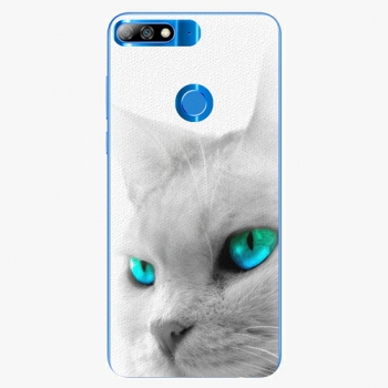Silikonové pouzdro iSaprio - Cats Eyes - Huawei Y7 Prime 2018