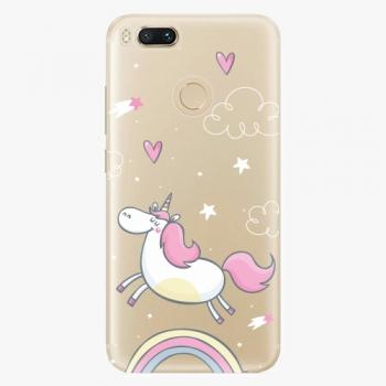 Silikonové pouzdro iSaprio - Unicorn 01 - Xiaomi Mi A1