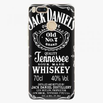 Silikonové pouzdro iSaprio - Jack Daniels - Xiaomi Mi A1