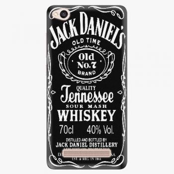 Silikonové pouzdro iSaprio - Jack Daniels - Xiaomi Redmi 4A