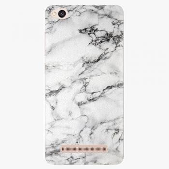 Silikonové pouzdro iSaprio - White Marble 01 - Xiaomi Redmi 4A