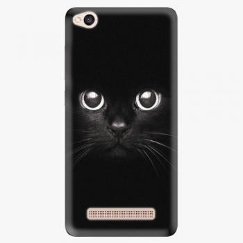 Silikonové pouzdro iSaprio - Black Cat - Xiaomi Redmi 4A