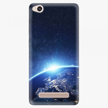 Silikonové pouzdro iSaprio - Earth at Night - Xiaomi Redmi 4A