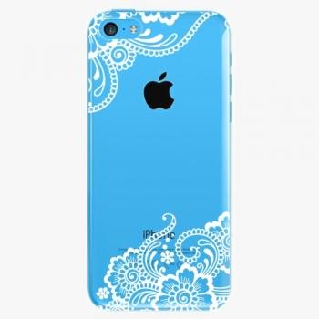 Plastový kryt iSaprio - White Lace 02 - iPhone 5C