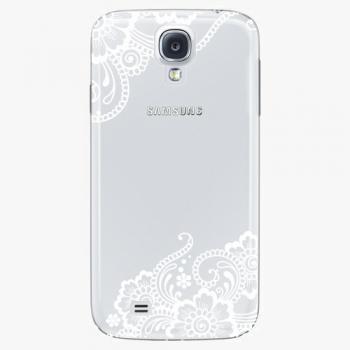 Plastový kryt iSaprio - White Lace 02 - Samsung Galaxy S4