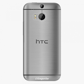 Plastový kryt iSaprio - 4Pure - průhledný matný - HTC One M8