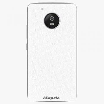 Plastový kryt iSaprio - 4Pure - bílý - Lenovo Moto G5