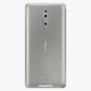 Plastový kryt iSaprio - 4Pure - průhledný matný - Nokia 8