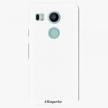Plastový kryt iSaprio - 4Pure - bílý - LG Nexus 5X