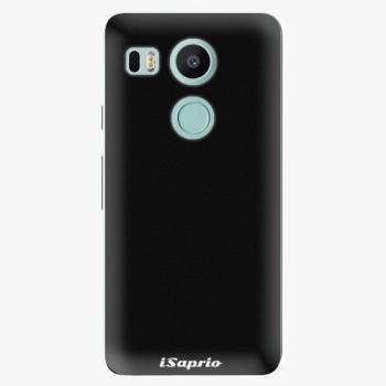 Plastový kryt iSaprio - 4Pure - černý - LG Nexus 5X