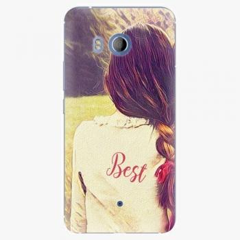 Plastový kryt iSaprio - BF Best - HTC U11