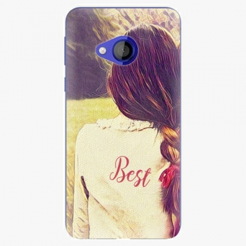 Plastový kryt iSaprio - BF Best - HTC U Play