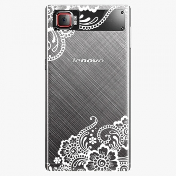 Plastový kryt iSaprio - White Lace 02 - Lenovo Z2 Pro