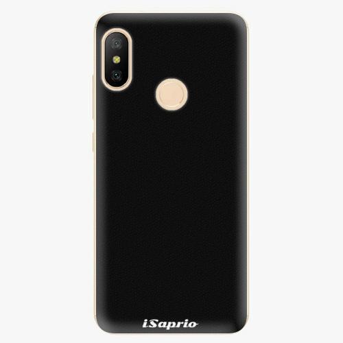 Silikonové pouzdro iSaprio - 4Pure - černý - Xiaomi Mi A2 Lite