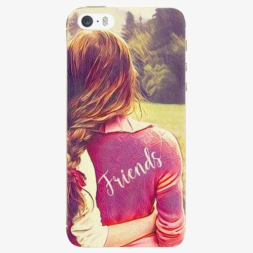 Silikonové pouzdro iSaprio - BF Friends - iPhone 5/5S/SE