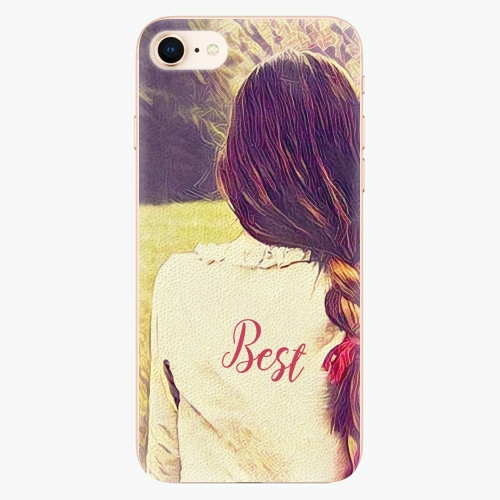 Silikonové pouzdro iSaprio - BF Best - iPhone 8