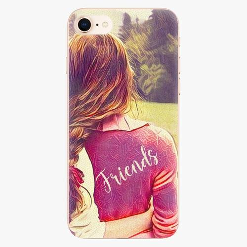 Silikonové pouzdro iSaprio - BF Friends - iPhone 8