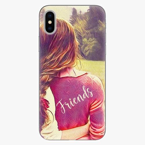 Silikonové pouzdro iSaprio - BF Friends - iPhone X