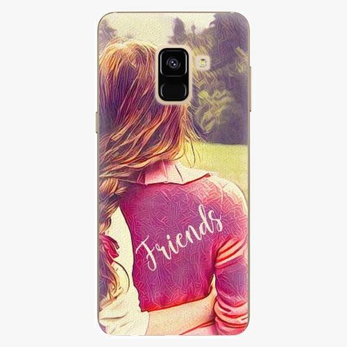 Silikonové pouzdro iSaprio - BF Friends - Samsung Galaxy A8 2018
