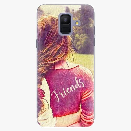 Silikonové pouzdro iSaprio - BF Friends - Samsung Galaxy A6