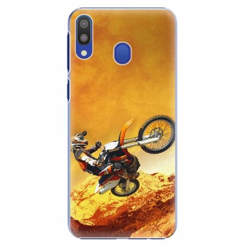 Plastový kryt iSaprio - Motocross - Samsung Galaxy M20