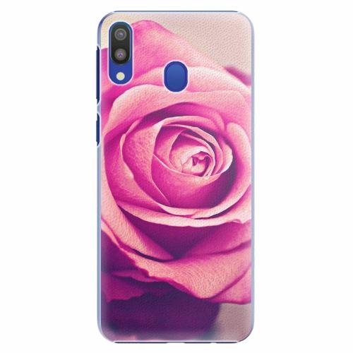 Plastový kryt iSaprio - Pink Rose - Samsung Galaxy M20