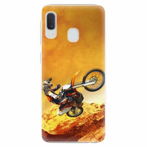 Plastový kryt iSaprio - Motocross - Samsung Galaxy A20e