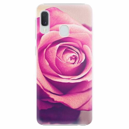 Plastový kryt iSaprio - Pink Rose - Samsung Galaxy A20e