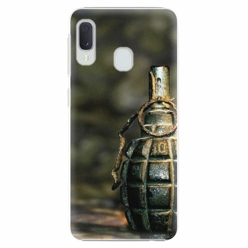 Plastový kryt iSaprio - Grenade - Samsung Galaxy A20e