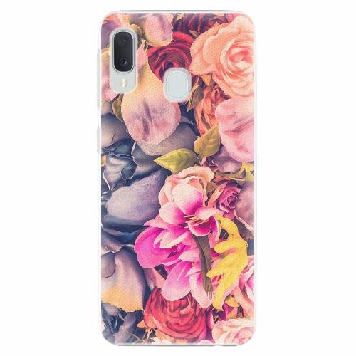 Plastový kryt iSaprio - Beauty Flowers - Samsung Galaxy A20e