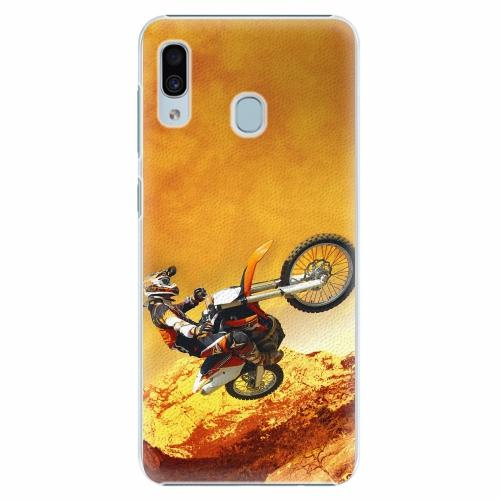 Plastový kryt iSaprio - Motocross - Samsung Galaxy A30