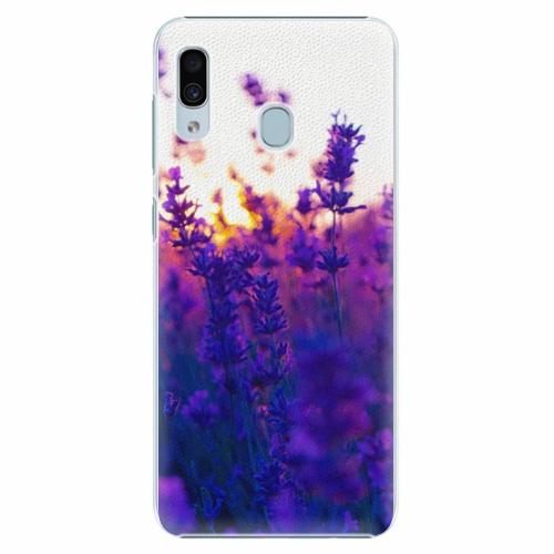 Plastový kryt iSaprio - Lavender Field - Samsung Galaxy A30