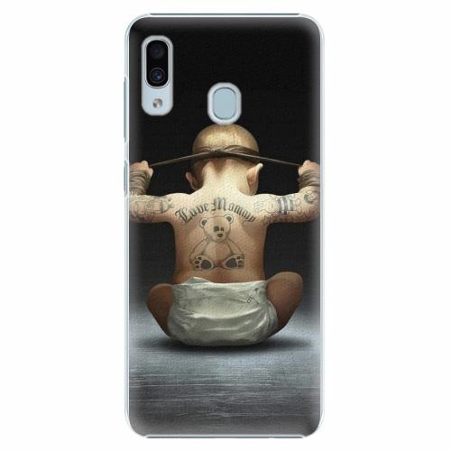 Plastový kryt iSaprio - Crazy Baby - Samsung Galaxy A30