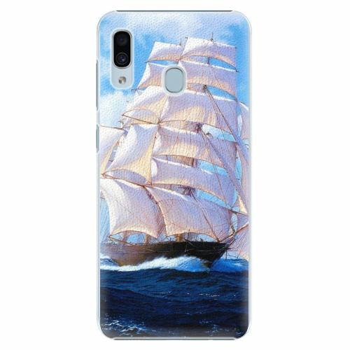 Plastový kryt iSaprio - Sailing Boat - Samsung Galaxy A30
