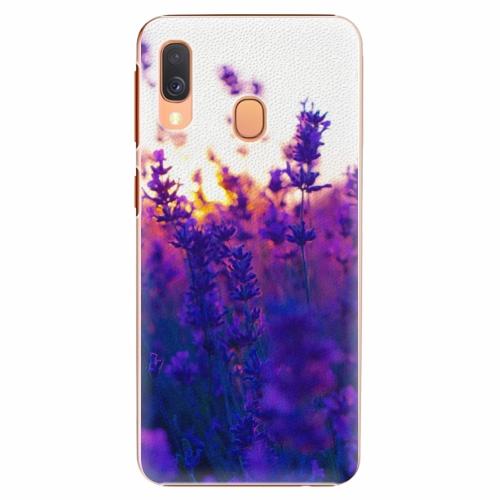 Plastový kryt iSaprio - Lavender Field - Samsung Galaxy A40