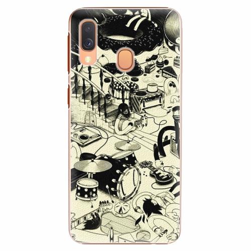Plastový kryt iSaprio - Underground - Samsung Galaxy A40