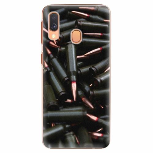 Plastový kryt iSaprio - Black Bullet - Samsung Galaxy A40