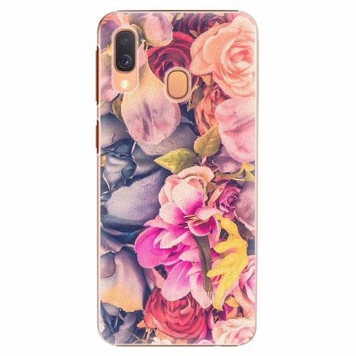 Plastový kryt iSaprio - Beauty Flowers - Samsung Galaxy A40
