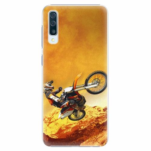 Plastový kryt iSaprio - Motocross - Samsung Galaxy A50