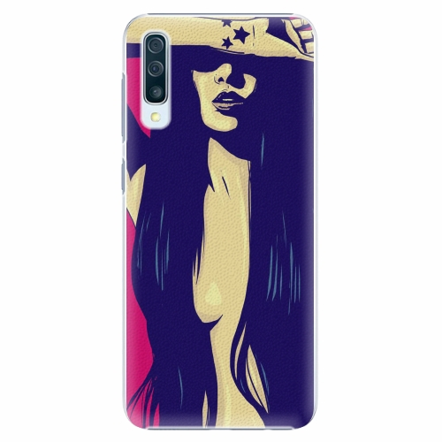 Plastový kryt iSaprio - Cartoon Girl - Samsung Galaxy A50