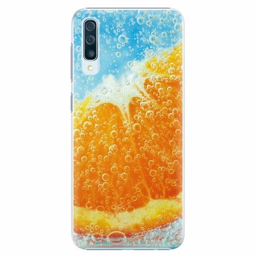 Plastový kryt iSaprio - Orange Water - Samsung Galaxy A50
