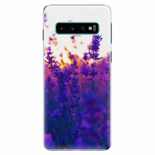 Plastový kryt iSaprio - Lavender Field - Samsung Galaxy S10