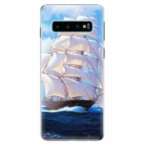 Plastový kryt iSaprio - Sailing Boat - Samsung Galaxy S10