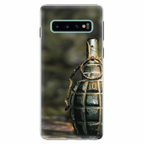 Plastový kryt iSaprio - Grenade - Samsung Galaxy S10