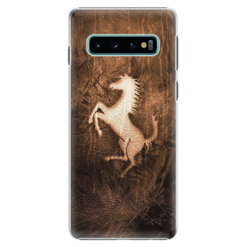 Plastový kryt iSaprio - Vintage Horse - Samsung Galaxy S10