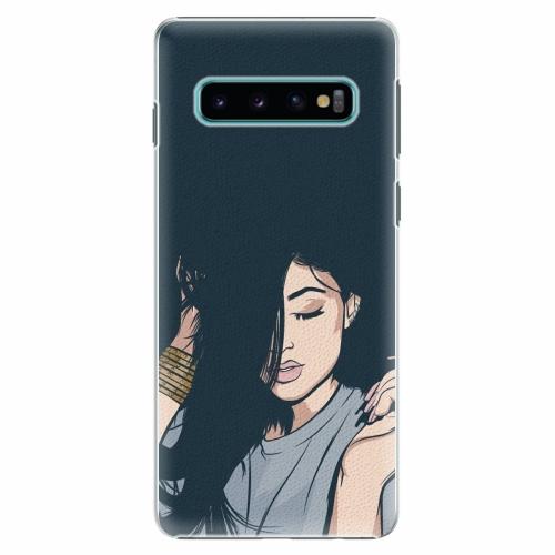 Plastový kryt iSaprio - Swag Girl - Samsung Galaxy S10
