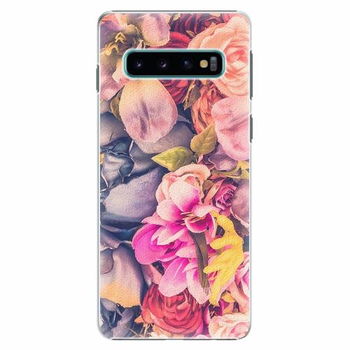 Plastový kryt iSaprio - Beauty Flowers - Samsung Galaxy S10