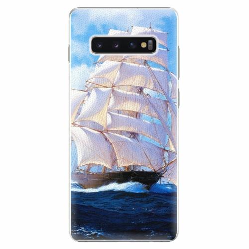 Plastový kryt iSaprio - Sailing Boat - Samsung Galaxy S10+
